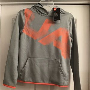 Boy's Under Armour Hoodie NWT Size L